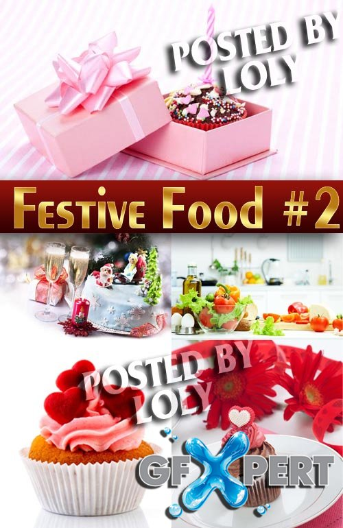 Festive food #2 - Stock Photo