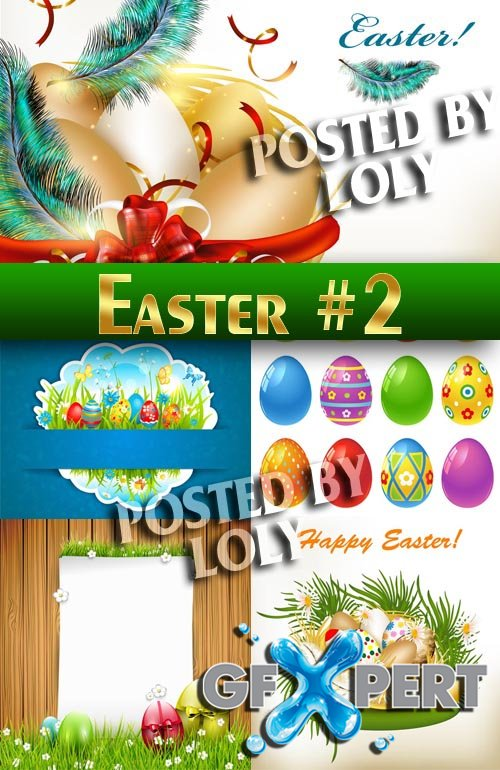 Easter #2 - Stock Vector