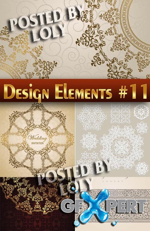Design elements #11 - Stock Vector