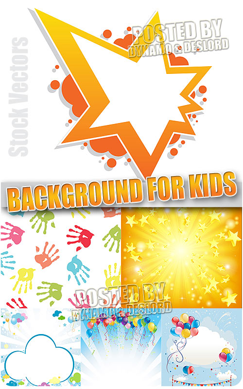 Background for kids - Stock Vectors