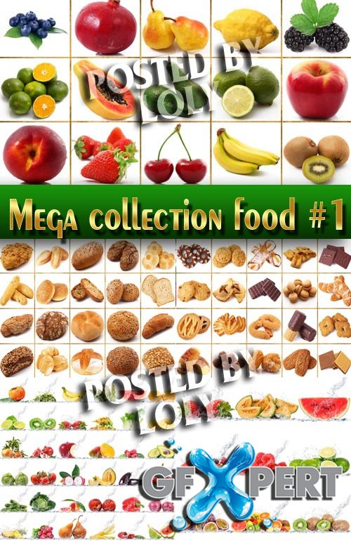 Food. Mega Collection #1 - Stock Photo