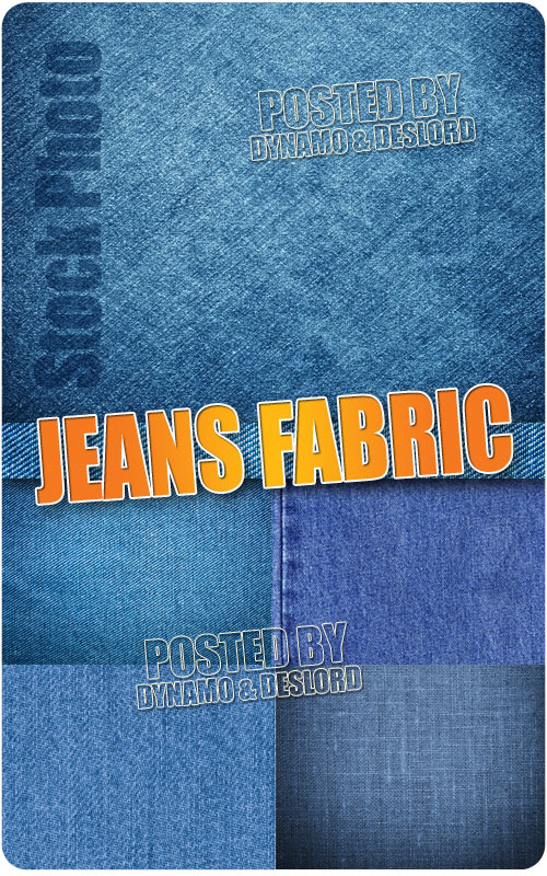 Jeans fabric - UHQ Stock Photo