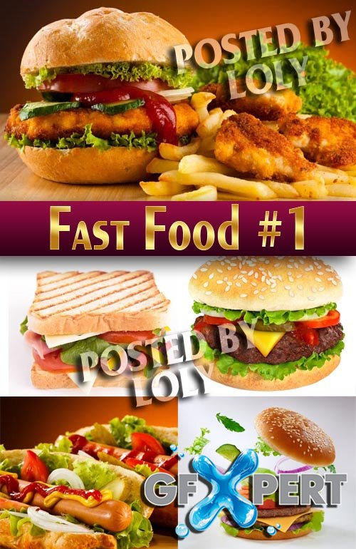 Fast Food #1 - Stock Photo