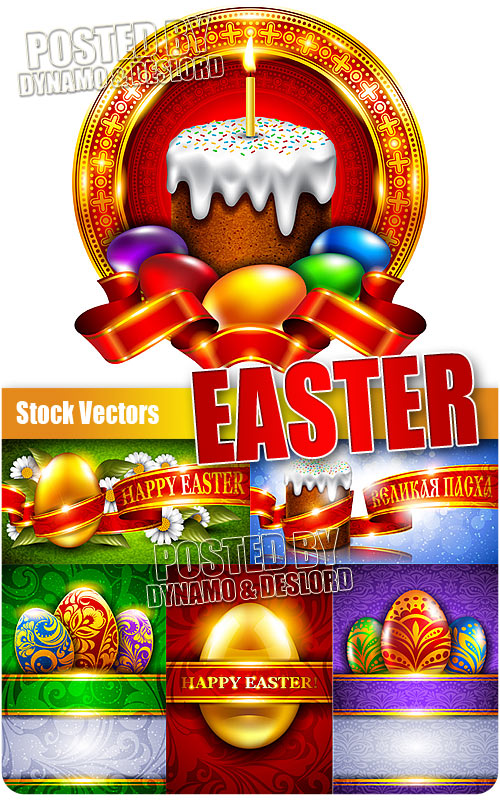 Easter 5 - Stock Vectors