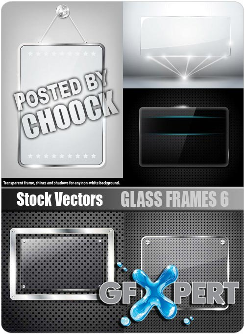 Glass frames 6 - Stock Vector