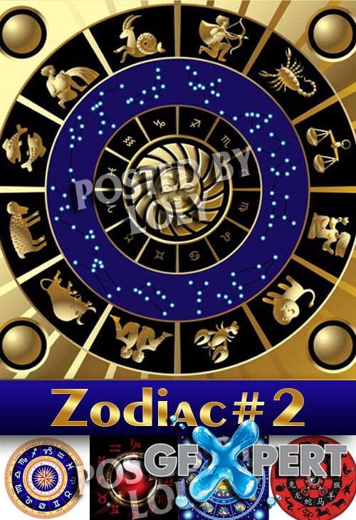 Zodiac #2 - Stock Vector