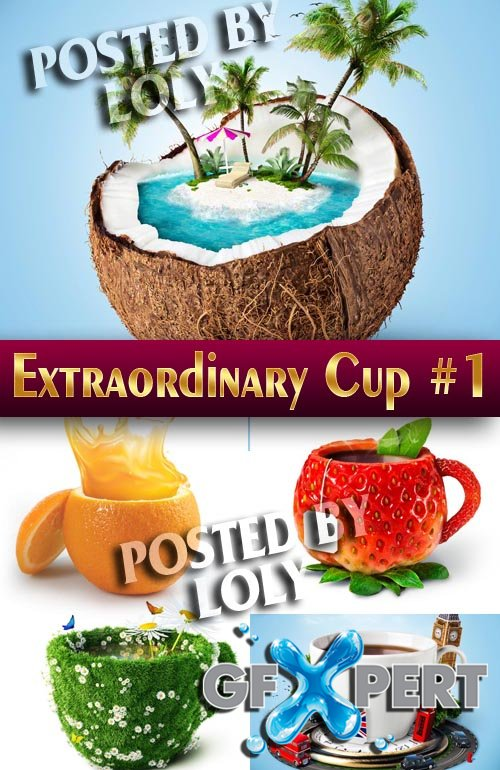 Extraordinary cup #1 - Stock Photo