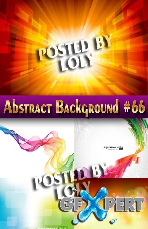 Vector Abstract Backgrounds #66 - Stock Vector