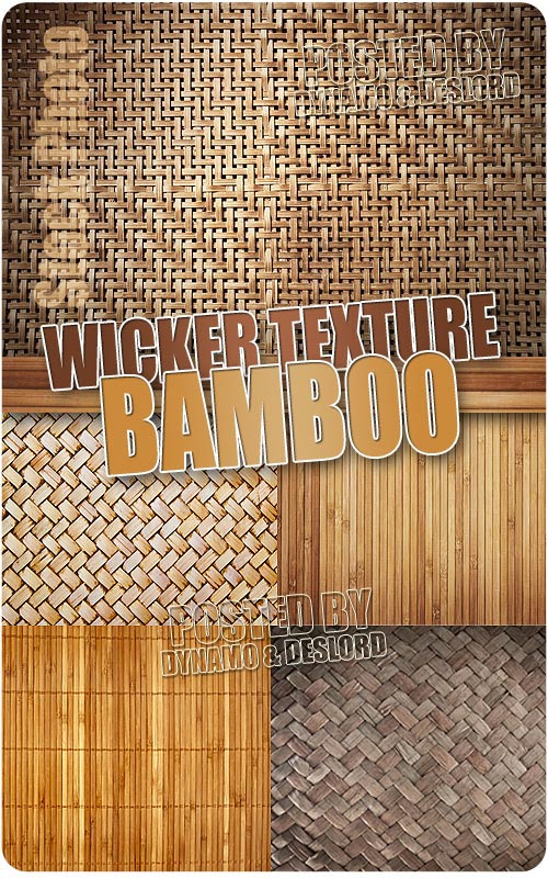 Wicker texture bamboo - UHQ Stock Photo