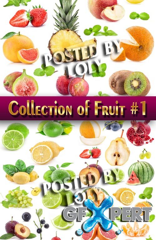 Food. Mega Collection. Fruit #1 - Stock Photo