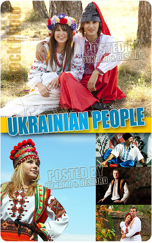Ukrainian people - UHQ Stock Photo