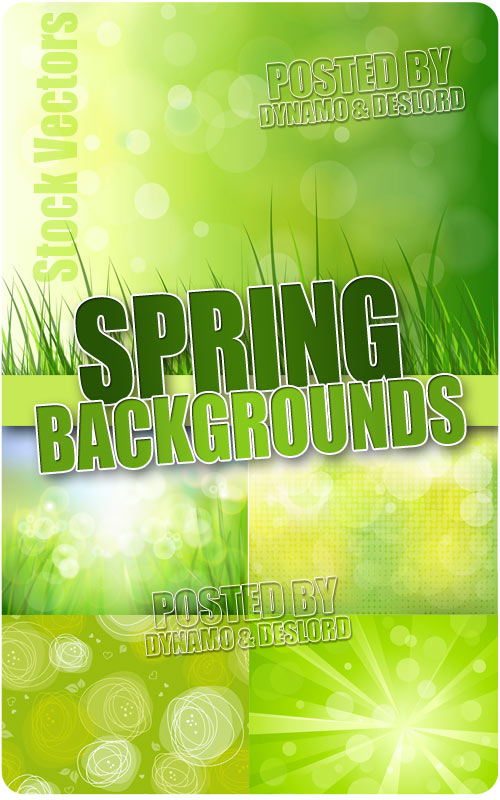 Spring backgrounds 2 - Stock Vectors