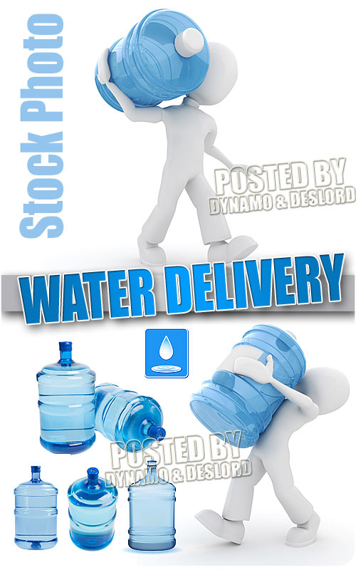Water delivery - UHQ Stock Photo