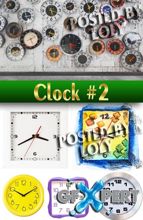 Watch #2 - Stock Photo