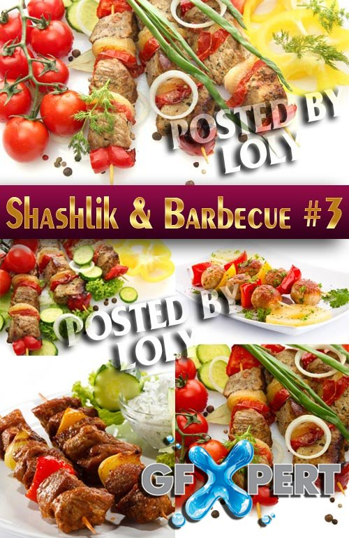Shashlik and barbecue #3 - Stock Photo