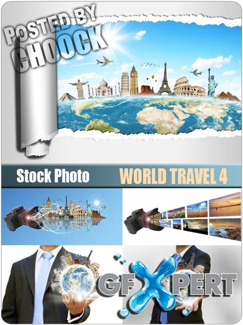 World travel 4 - Stock Photo