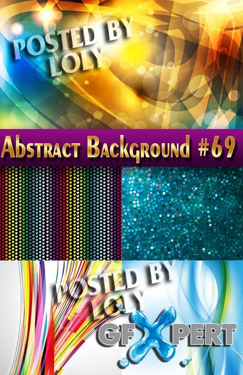 Vector Abstract Backgrounds #69 - Stock Vector