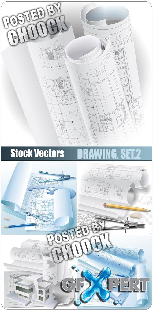 Drawing. Set.2 - Stock Vector