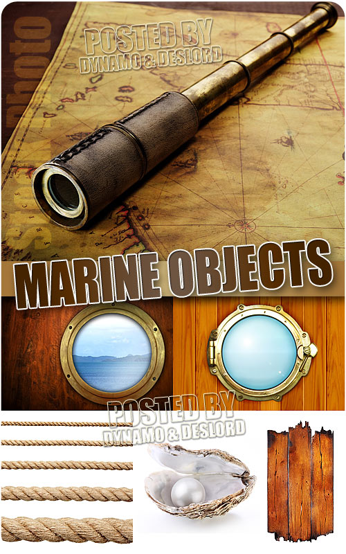 Marine objects 2 - UHQ Stock Photo