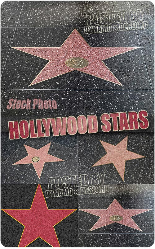 Hollywood stars - UHQ Stock Photo