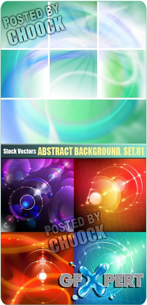 Abstract background. Set.81 - Stock Vector