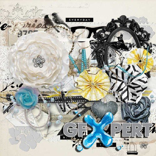 Scrapbooking kit - Everyday