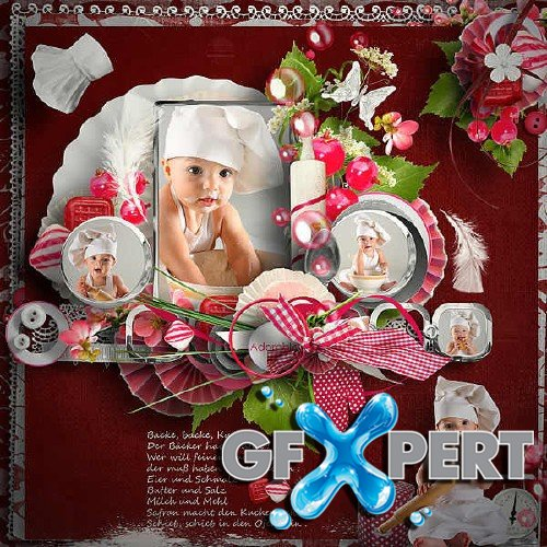 Scrap kit Sweet Cooking