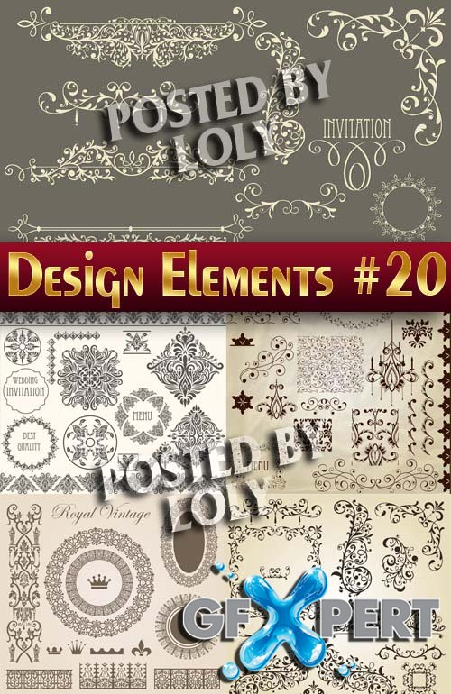 Design elements #20 - Stock Vector