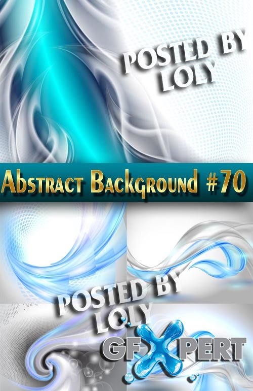 Vector Abstract Backgrounds #70 - Stock Vector