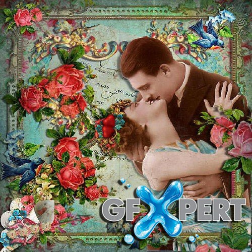 Scrapbooking kit - Romance and Love