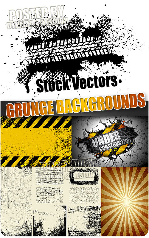 Grunge backgrounds - Stock Vectors