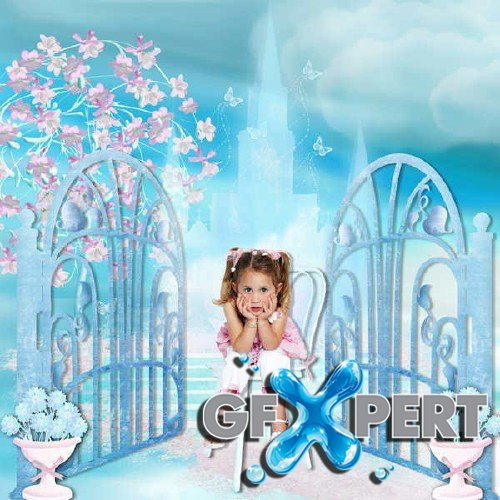 Digital scrapbooking kit - Girls Dreams