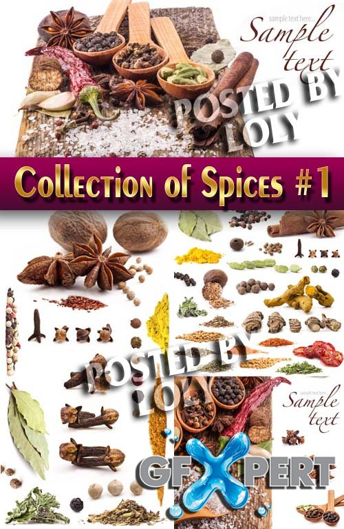 Food. Mega Collection. Spices #1 - Stock Photo