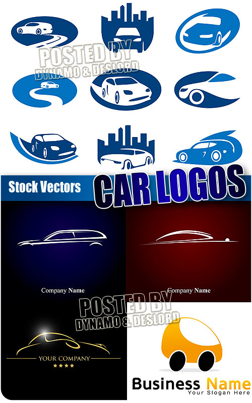 Car logos - Stock Vectors