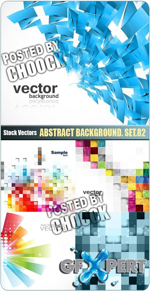 Abstract background. Set.82 - Stock Vector