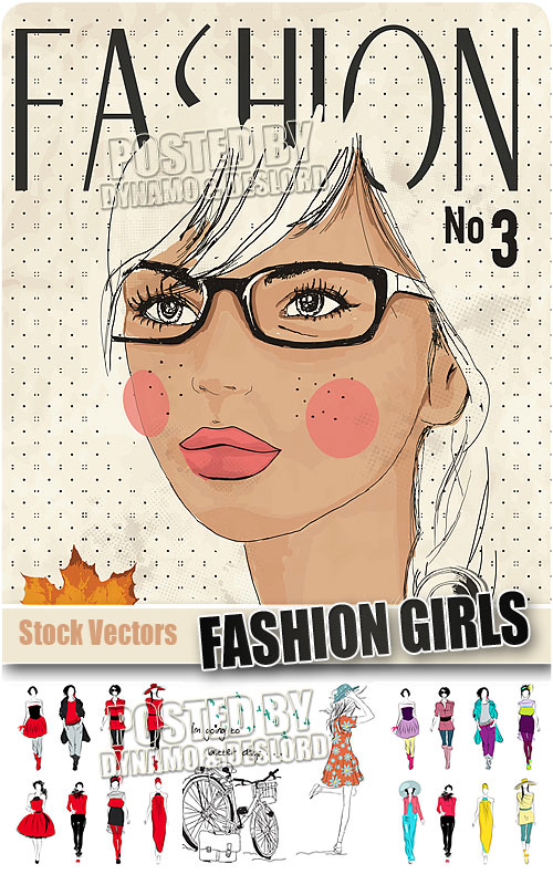 Fashion girls 3 - Stock Vectors
