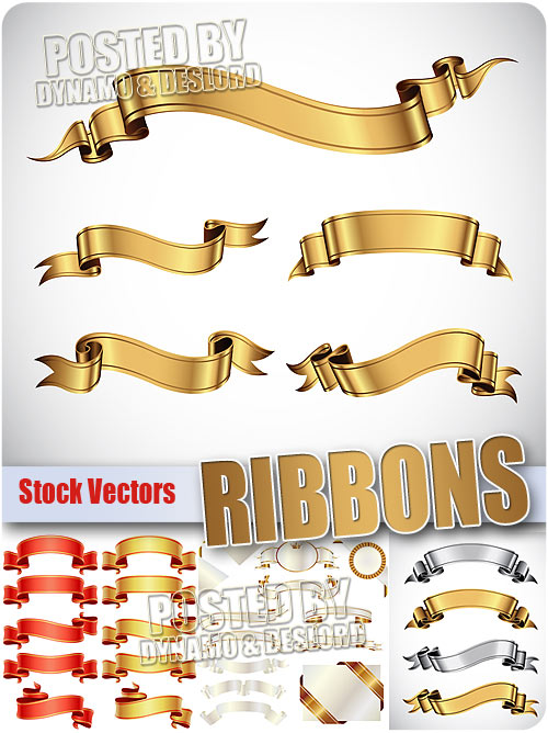 Ribbons - Stock Vectors