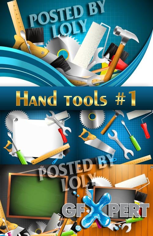 Repair Tools #1 - Stock Vector