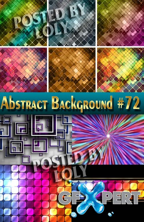 Vector Abstract Backgrounds #72 - Stock Vector