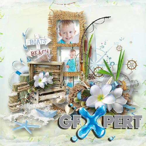 Digital scrapbooking kit - Vogue