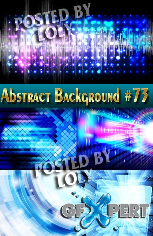 Vector Abstract Backgrounds #73 - Stock Vector