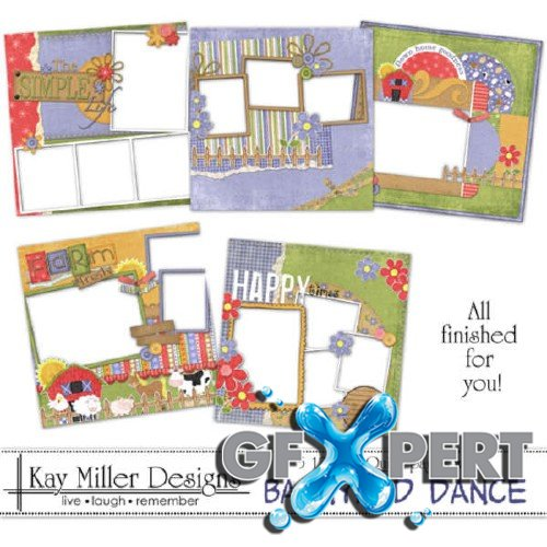Scrap set - Barnyard Dance