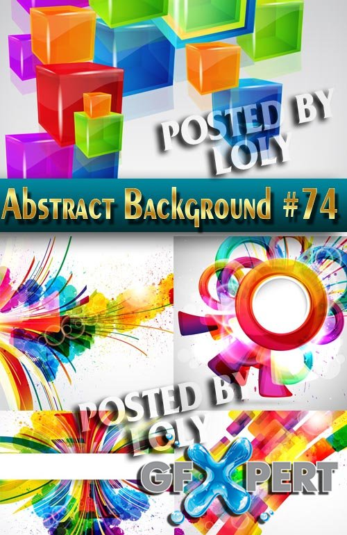 Vector Abstract Backgrounds #74 - Stock Vector