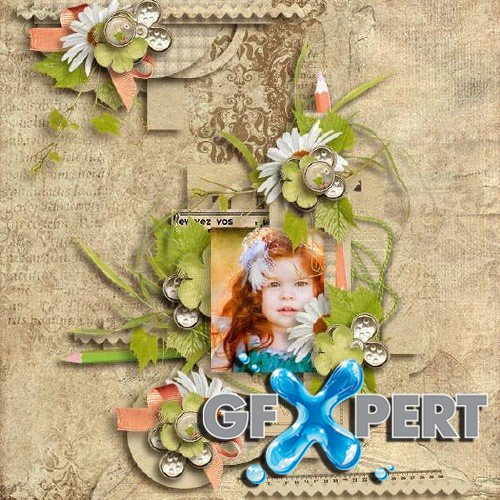 Scrapbooking kit - Like a sweet poem