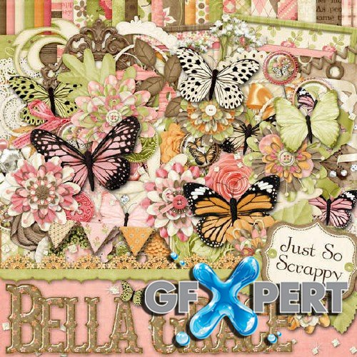 Digital scrapbooking set - Bella Grace