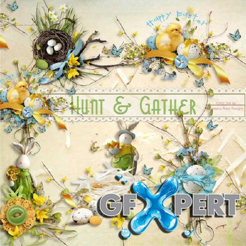 Scrap kit - Hunt and Gather