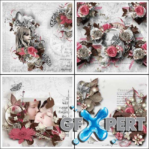 Digital scrap kit - I Turn to You
