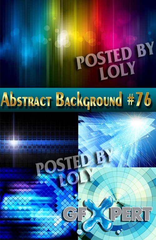 Vector Abstract Backgrounds #76 - Stock Vector