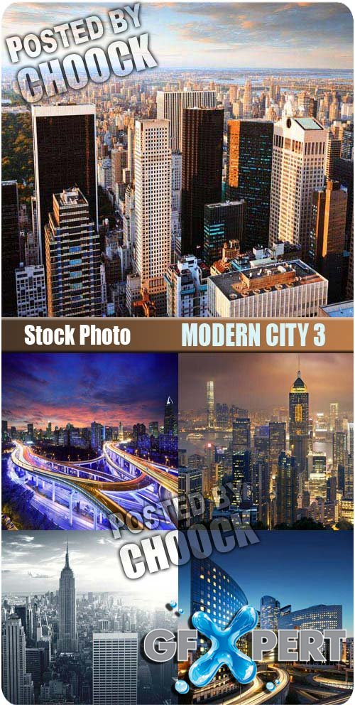 Modern city 3 - Stock Photo