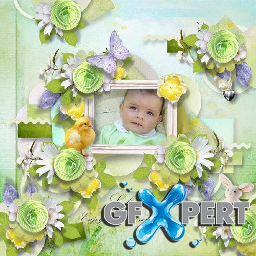 Digital scrap kit - Spring is there